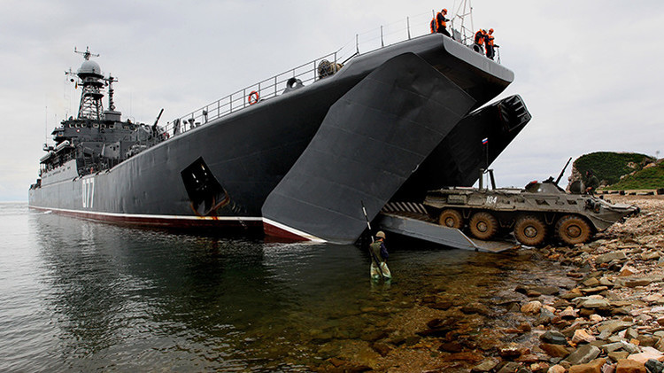 La Armada rusa recibiría equipo 'cegador' a armas enemigas Grach