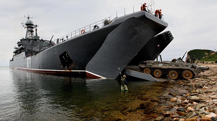 La Armada rusa recibirá el equipo 'cegador' Grach