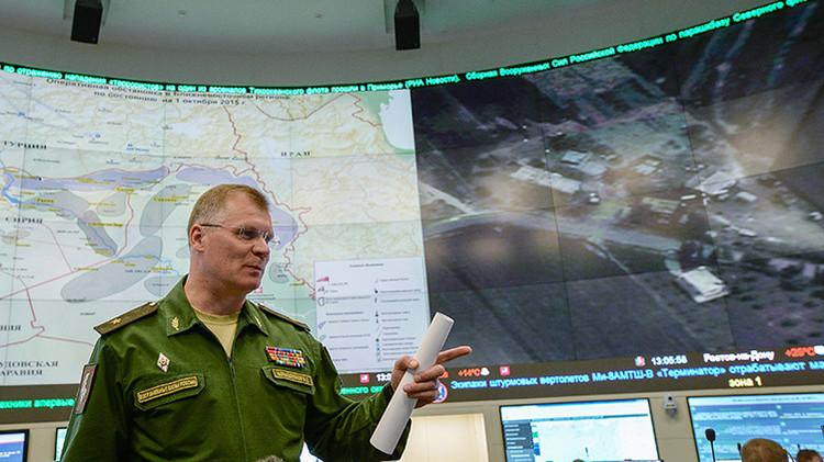 Ministerio de Defensa de Rusia: Aviones rusos solo atacaron al EI en Siria