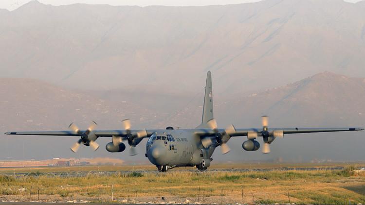 Un avión de carga de EE.UU. se estrella en Afganistán