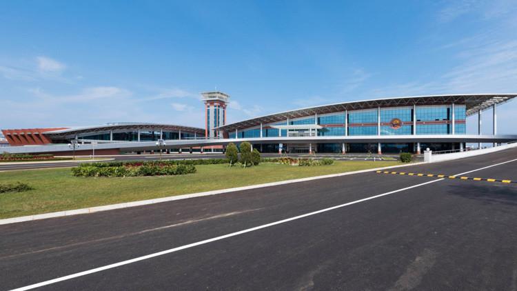Fotos: El aeropuerto de Wonsan, la nueva joya de Corea del Norte