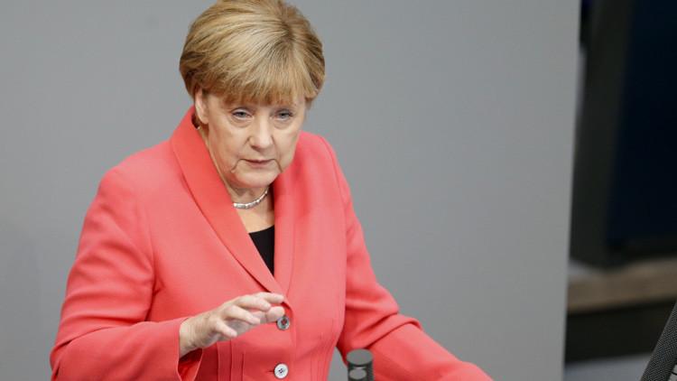 Merkel asegura que no se puede resolver la crisis en Siria sin Rusia