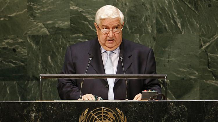 """Siria en la ONU: """"Israel sigue atacando a Siria mientras el mundo observa"""""""
