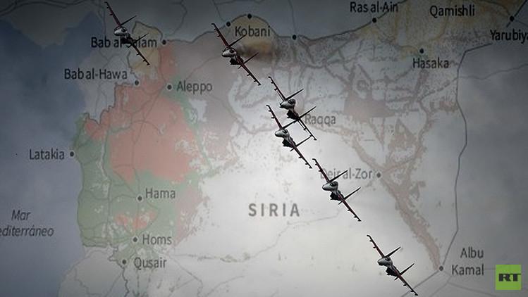 ¿Qué han bombardeado? Todos los ataques rusos en Siria en una simple infografía