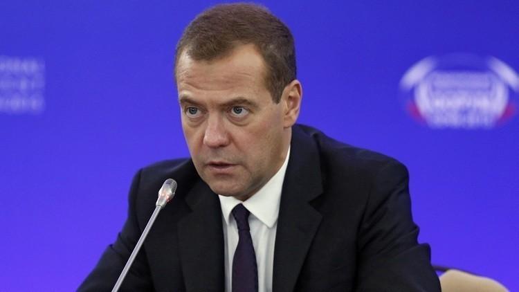"""Medvédev sobre el operativo en Siria: """"Protegemos al pueblo ruso de la amenaza terrorista"""""""