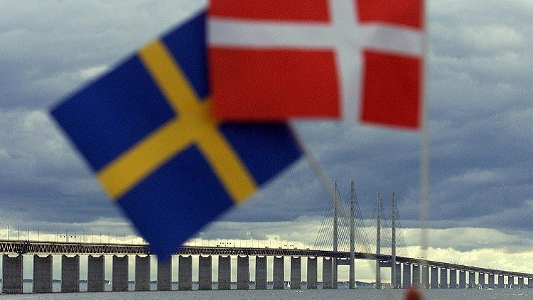 El puente de Oresund conecta Copenhague y la ciudad sueca de Malmo