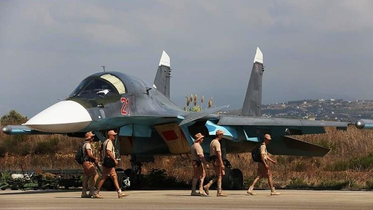 Fotos únicas: despegues de los aviones rusos en Siria para atacar al Estado Islámico