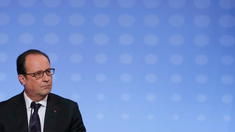 """François Hollande: """"Rusia puede convertirse en nuestro socio en Siria"""""""