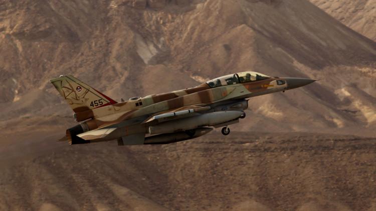 Caza israelí F-16