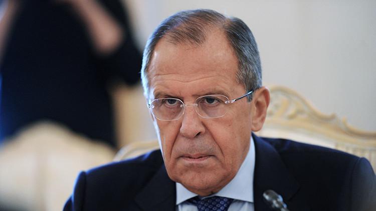 """Lavrov: """"Todas las acciones de la aviación rusa en Siria se divulgan"""""""