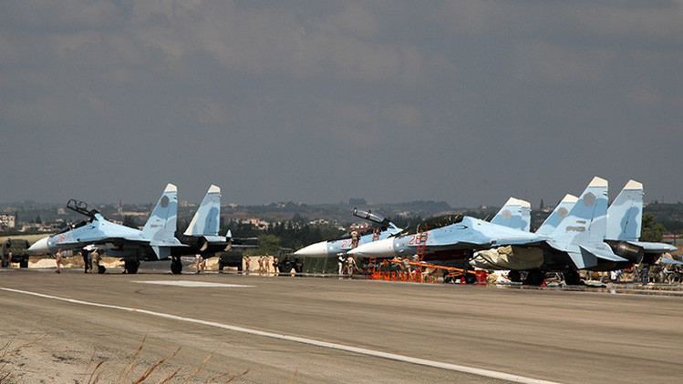 Nuevos detalles sobre los aviones de combate rusos desplegados en Siria