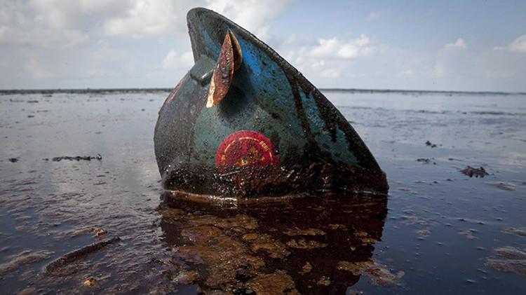 BP pagará una compensación récord por el derrame de petróleo en el Golfo de México