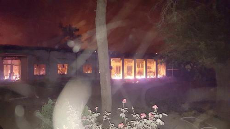 """Afganistán: MSF tacha del """"crimen de guerra"""" el ataque contra su hospital y culpa a EE.UU."""