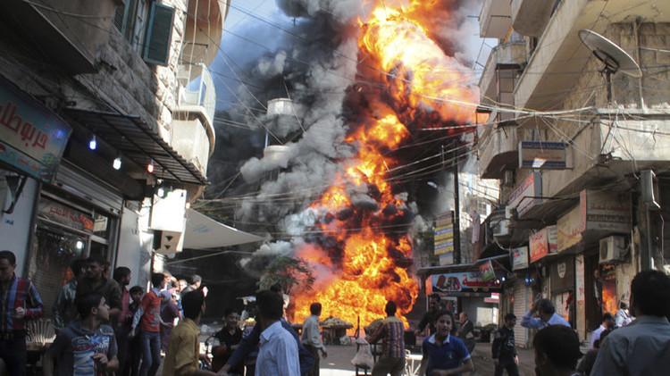 Desoladoras imágenes: Vea cómo la guerra ha devastado Siria