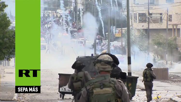 Video: Choques entre palestinos y fuerzas israelíes dejan tres jóvenes muertos