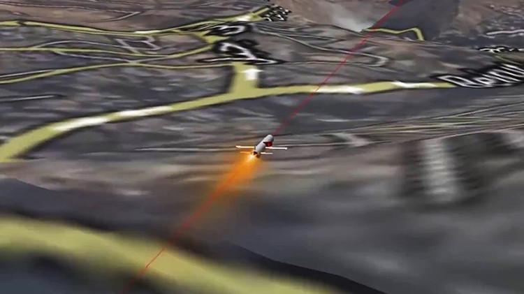 La simulación de un ataque contra las posiciones del Estado Islámico
