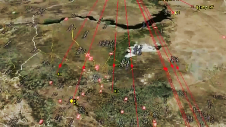 Buques de la Flotilla del mar Caspio han realizado 26 lanzamientos de misiles contra las posiciones del Estado Islámico en Siria.