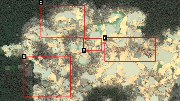 Alarmantes imágenes revelan cómo la minería ilegal de oro consume la Amazonia de Perú