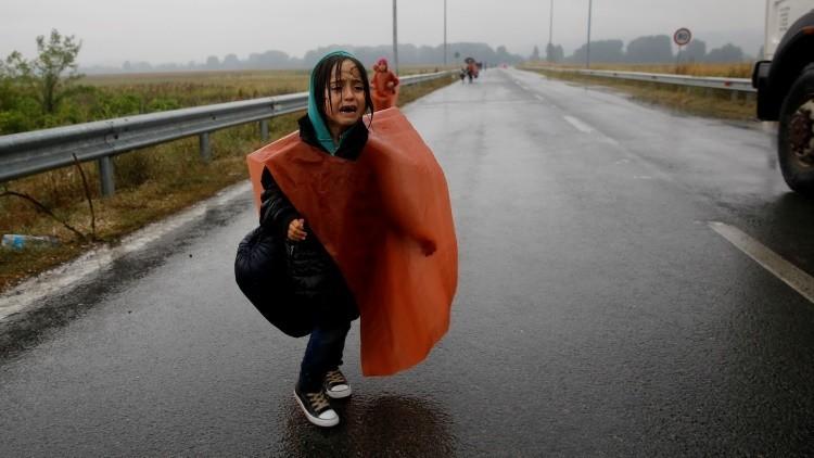 Ilustración racista sobre una niña refugiada siria enfurece a internautas