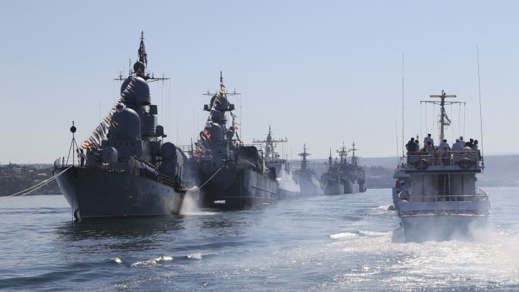 La Armada rusa dotará a sus buques de un 'rayo cegador'