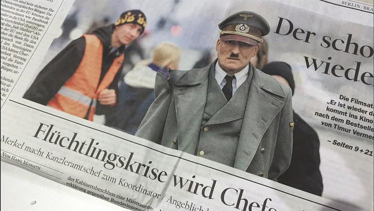 Portada polémica: Un diario alemán publica la efigie de Hitler junto a un texto sobre los refugiados