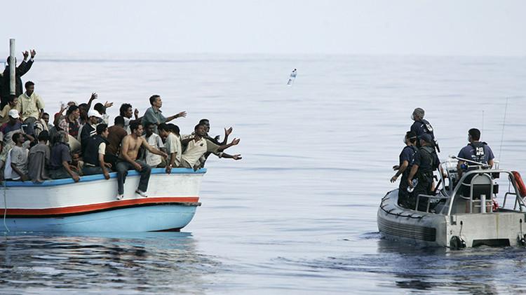 Operación de rescate de refugiados emprendida por las Fuerzas Armadas de Malta