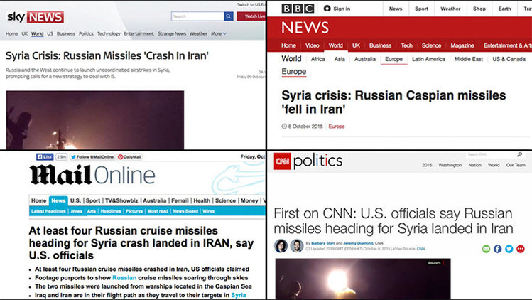 """""""¡O hay fotos o no ocurrió!"""": Exigen explicaciones a la CNN por los supuestos misiles rusos en Irán"""