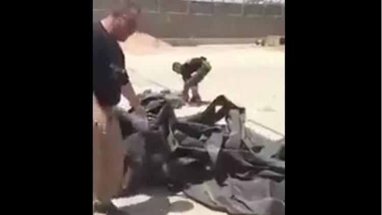 Video: Hallan en Irak supuestos suministros militares de EE.UU. al Estado Islámico