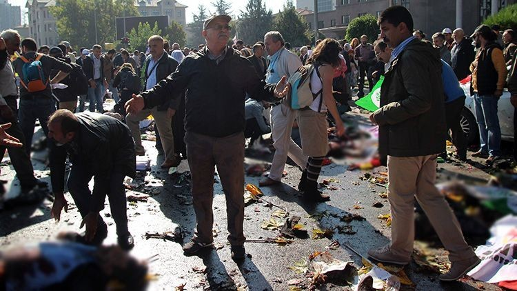 Las explosiones en Ankara, Turquía