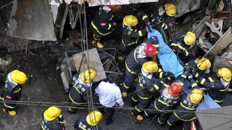 China: 17 muertos tras una explosión en un restaurante