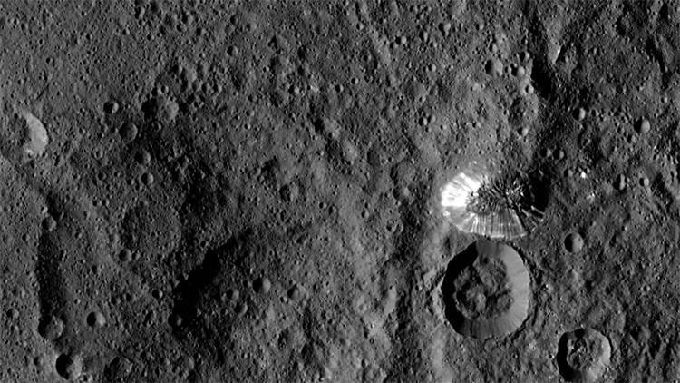 Astrónomos descifran el secreto del planeta enano Ceres