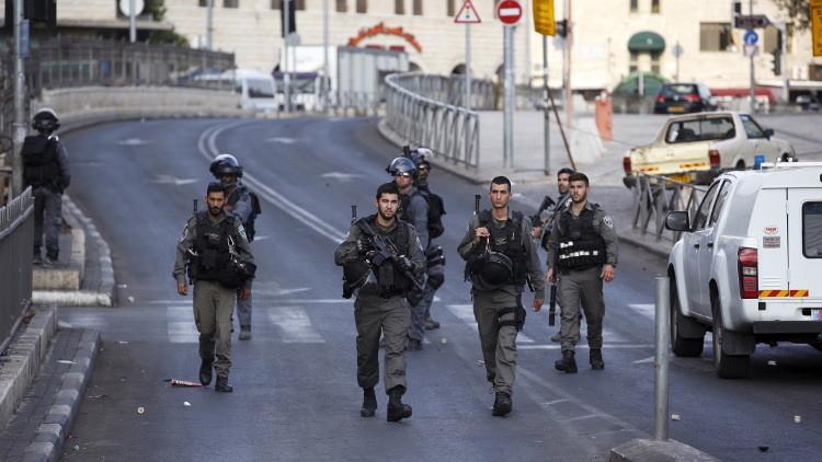 Un policía israelí herido en un ataque suicida de una mujer palestina cerca de Jerusalén