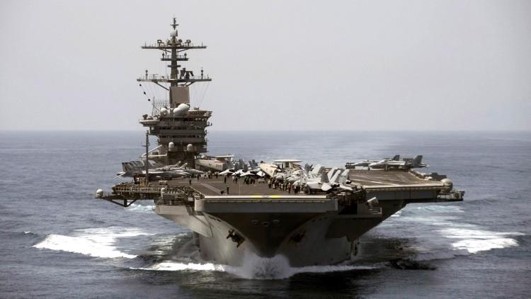 ¿Por qué EE.UU. retira su portaviones del golfo Pérsico en medio de la guerra en Siria?
