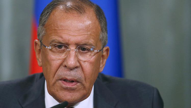 "Lavrov: ""Usar extremistas no funciona para cambiar Gobiernos"""