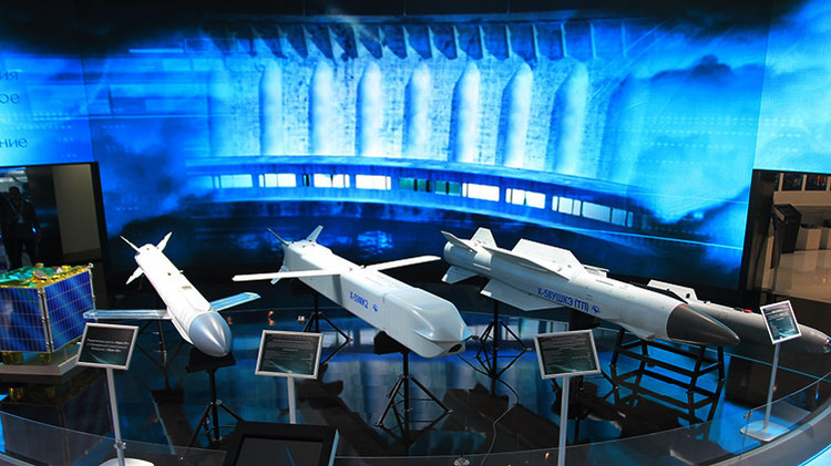 Rusia muestra unos misiles de crucero 'invisibles' para sus aviones de combate de última generación