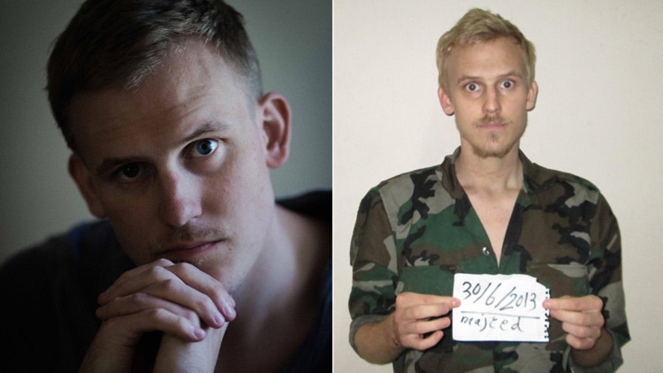 Imagen del fotógrafo danés Daniel Rye Ottosen en una campaña de recaudación de fondos a través de Facebook lanzada por su hermana, Anita.