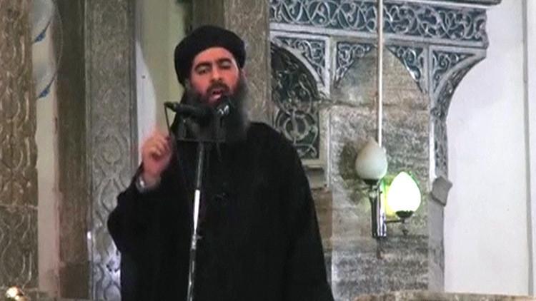Abu Bakr al Baghdadi, el hombre que pretendía ser el líder solitario del Estado Islámico.