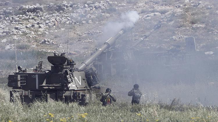 Fuerzas israelíes atacan objetivos en la parte siria de los Altos del Golán