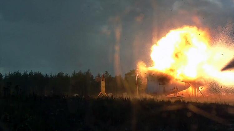 Fabricante del Buk detona misiles junto a cabina del piloto en una simulación del siniestro del MH17