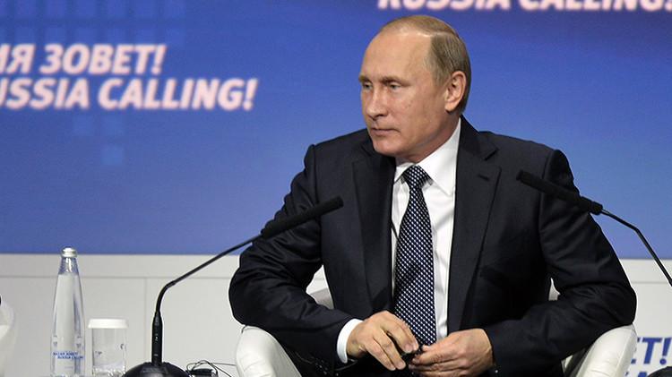 """Putin: """"Los socios de la coalición en Siria tienen un lío en la cabeza"""""""