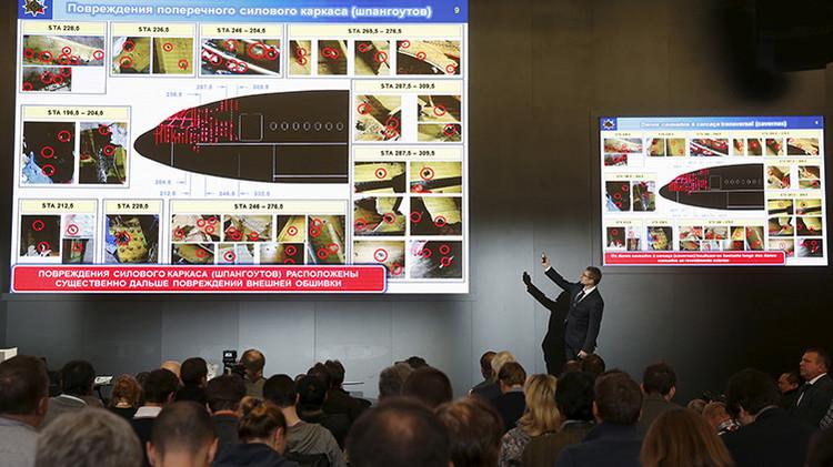 """El informe final ruso sobre el MH17: """"El avión fue derribado desde un área controlada por Kiev"""""""