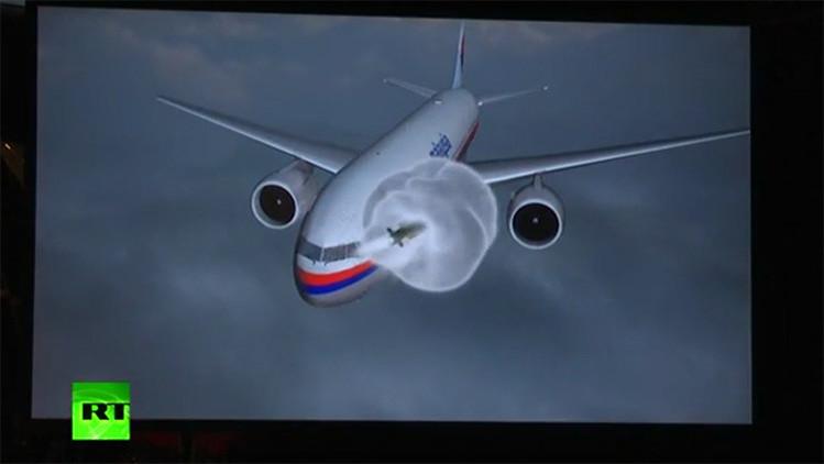 Video: Expertos neerlandeses reconstruyen el ataque contra el vuelo MH17 en Ucrania