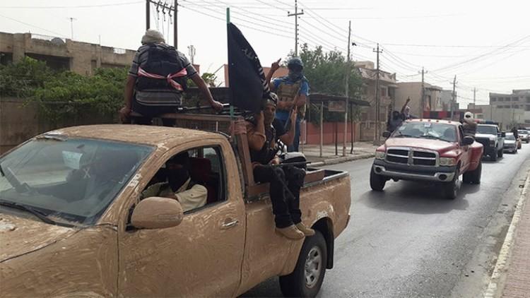Los combatientes del Estado Islámico / Reuters