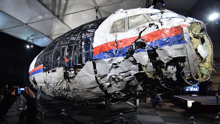 Las ocho conclusiones sobre el derribamiento del avión malasio en Ucrania