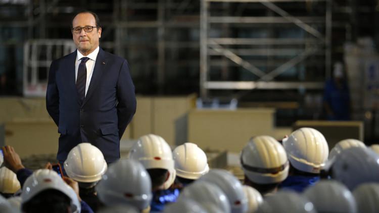 Hollande espera vender más buques a Rusia en el futuro pese al fracaso del contrato de los Mistral
