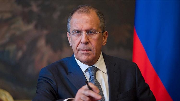 """Lavrov: """"EE.UU. busca asegurarse el liderazgo global"""""""