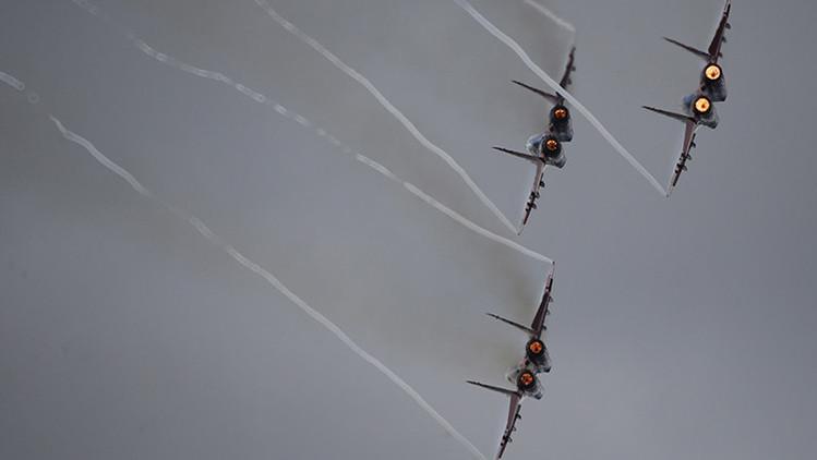 Moscú explica por qué los aviones rusos se aproximaron a los estadounidenses en Siria