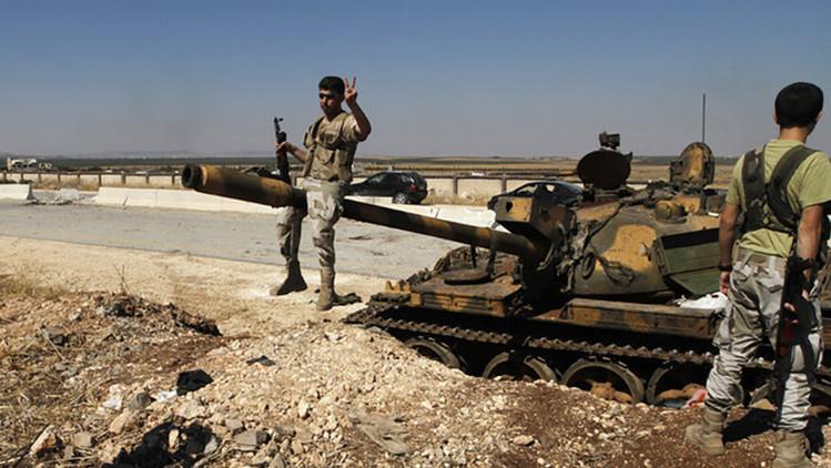 """¡Siete de siete!"", un comandante rebelde se jacta de destruir tanques del Ejército sirio (Video)"