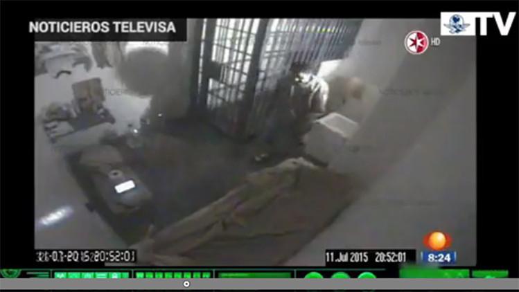 Video con audio: el momento exacto en el que se fugó Joaquín 'El Chapo'