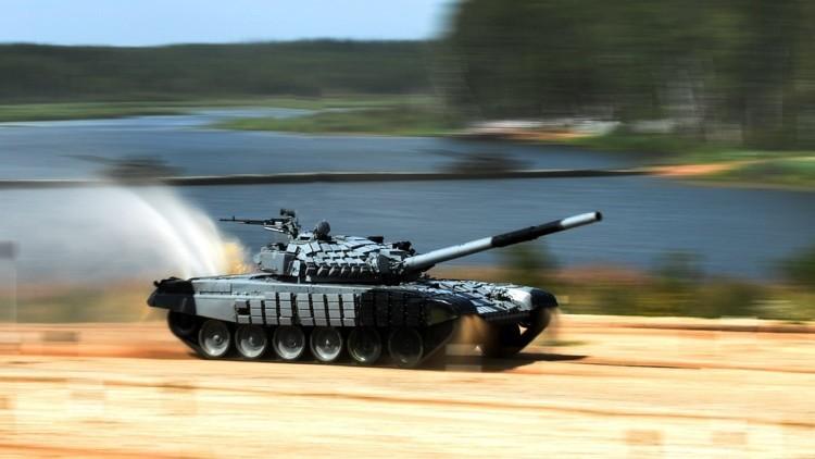 El tanque ruso T-72B